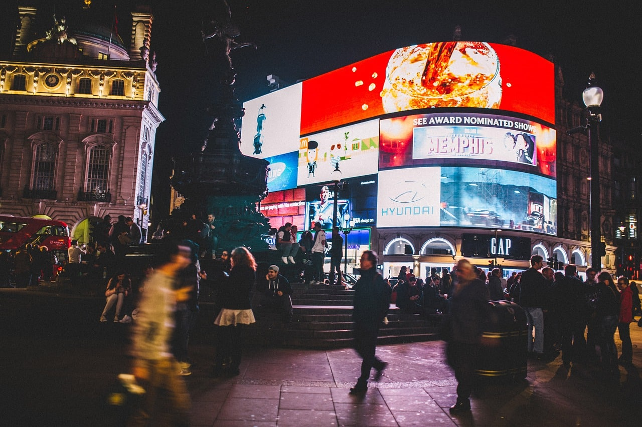 Piccadilly City, Londres-Inglaterra.