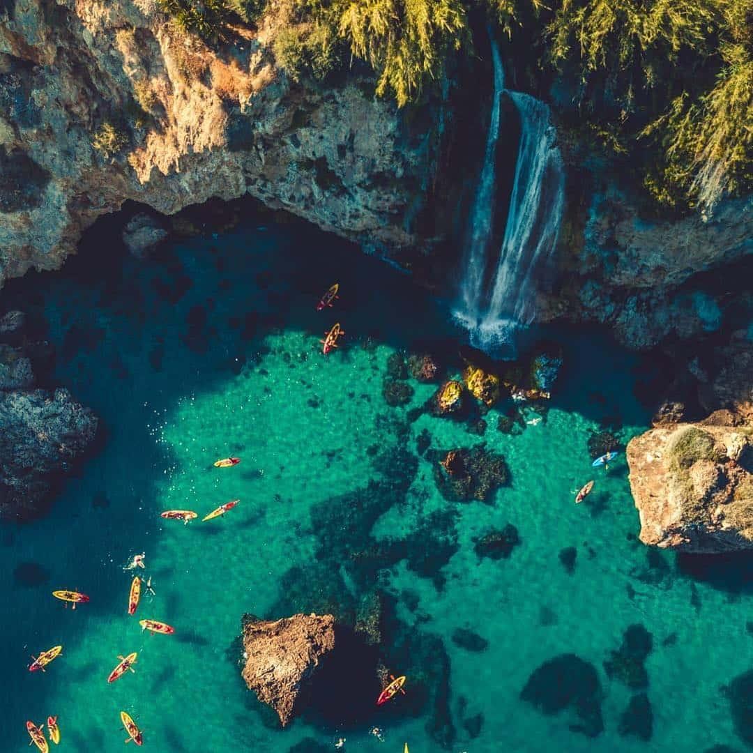 Una de las playas más bonitas de Málaga: Maro (Nerja)