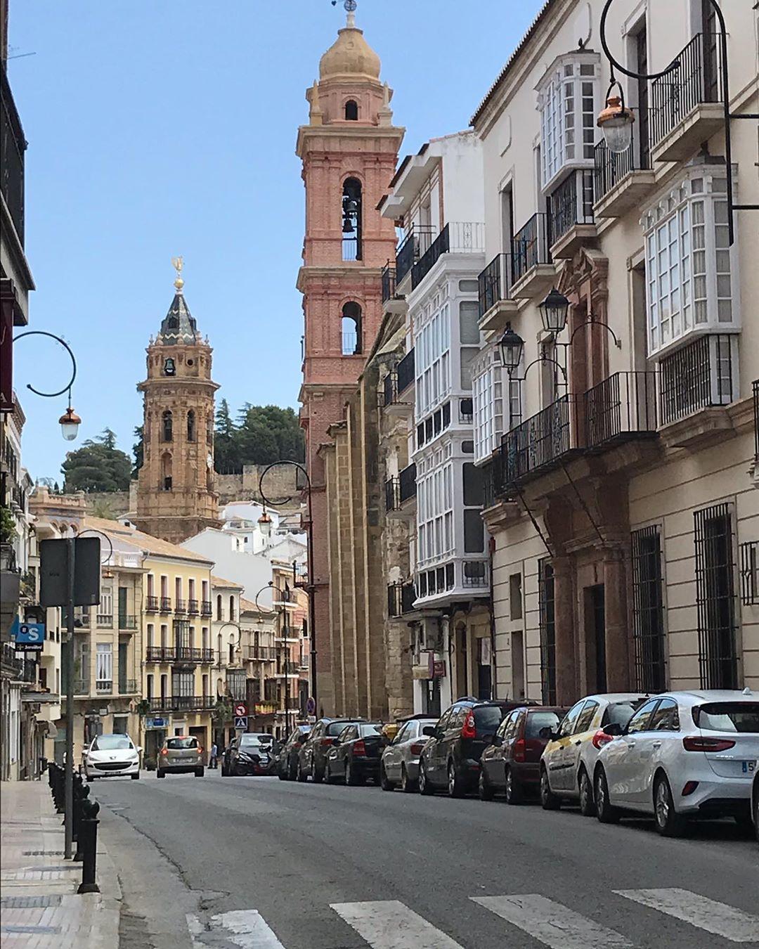 Antequera: calles e iglesias