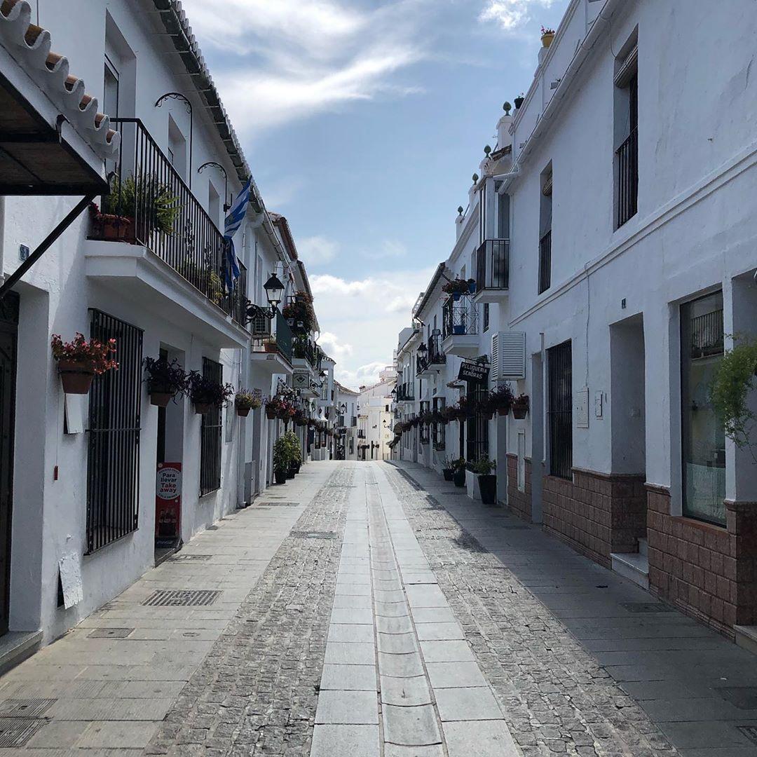 Calle blanca de Mijas Pueblo