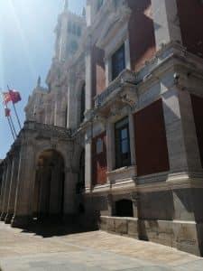 """Edificio de la """" Casa Consistoral"""" ubicado en en el centro de la Plaza Mayor"""