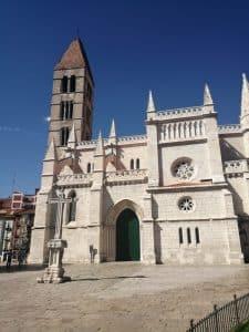 Fachada de la Iglesia de Santa María La Antigua