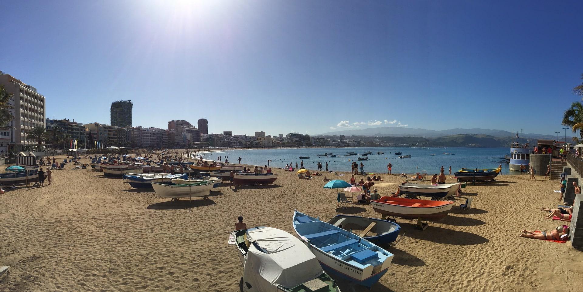 El tiempo en Gran Canaria (Playa de Las Canteras)