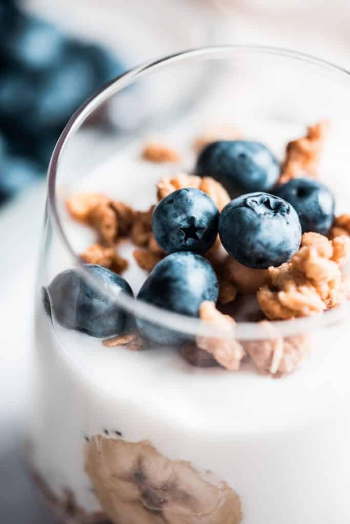 El yogur griego es uno de los postres más típicos