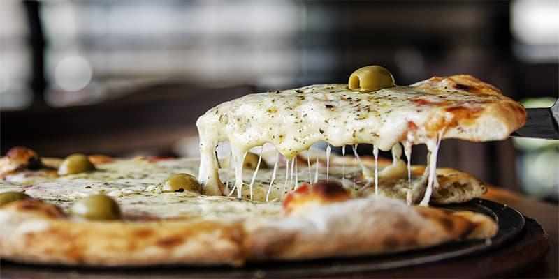 Pizzas y pastas