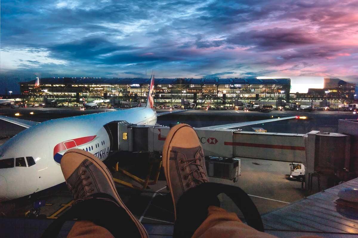 cómo llegar a San Sebastián en avión