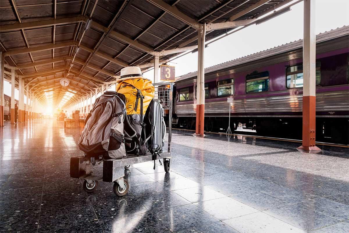 cómo llegar a San Sebastián en tren